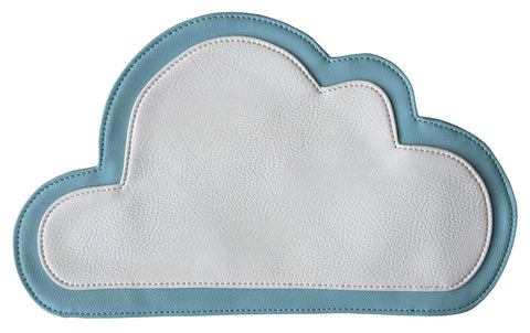 Cloud Clutch Bag, Knitting Factory accessory, by Well Done Goods