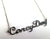 Coney Dog Script Necklace, Detroit Theme Nameplate, by Well Done Goods