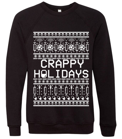 Crappy Holidays 2020, Corona Ugly Holiday Sweater Sweatshirt
