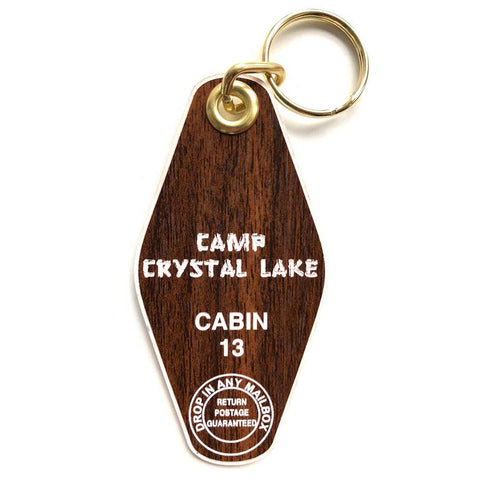 Camp Crystal Lake Key Chain