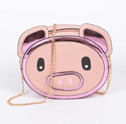 Cute Piggy 3D Crossbody Bag
