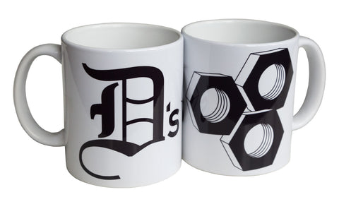 D's Nuts Mug, Detroit Coffee Cup, Well Done Goods