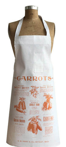 Ferry & Co. Carrot Advertisement Chef Apron