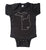 Metal Mitten Baby Onesie, Detroit Rock City Creeper, Well Done Goods