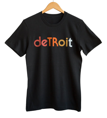 Detroit Rhythm Composer T-Shirt, Black.  Well Done Goods