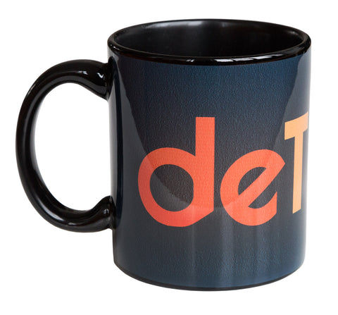 Detroit Rhythm Composer Mug, Black Coffee Cup, Well Done Goods