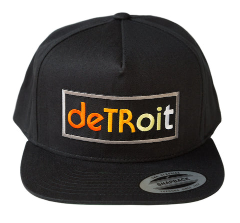 Detroit Rhythm Composer Snapback Cap, Well Done Goods