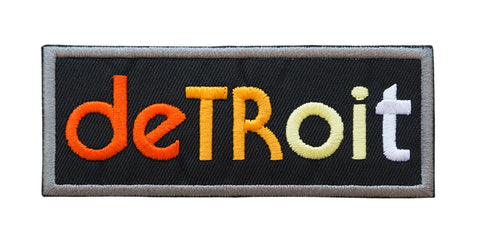 Detroit Rhythm Composer Iron-on Patch, Well Done Goods
