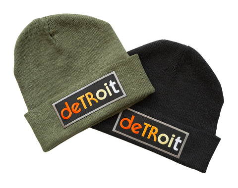 Detroit Rhythm Composer Beanie Cap Hats, Well Done Goods