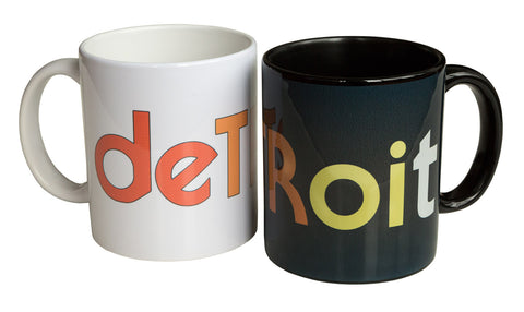 Detroit Rhythm Composer Mug, Techno Coffee Cup, Well Done Goods