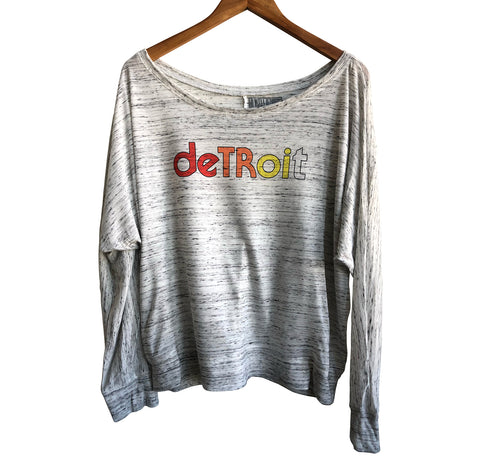 Detroit Rhythm Composer Women's Flowy Long Sleeve Shirt, Well Done Goods