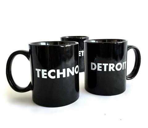 Detroit Techno Mug, by Well Done Goods