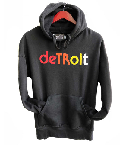 Detroit Rhythm Composer Unisex Black Pullover Hoodie, Well Done Goods