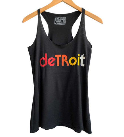Detroit Rhythm Composer Black Women's Tank Top, Well Done Goods