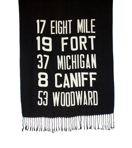 Bus Scroll Scarf