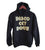 Disco Get Down Unisex Gold on Black Pullover Hoodie, Well Done Goods