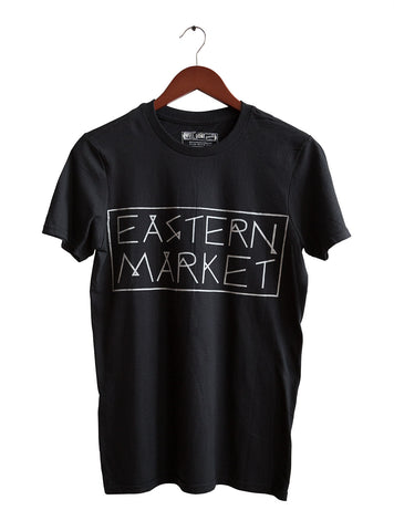 Black Eastern Market T-Shirt, by Well Done Goods
