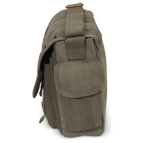 e9c2dcd44c Small Canvas Messenger Bag  ...