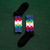 Geometric Woven Golf Socks
