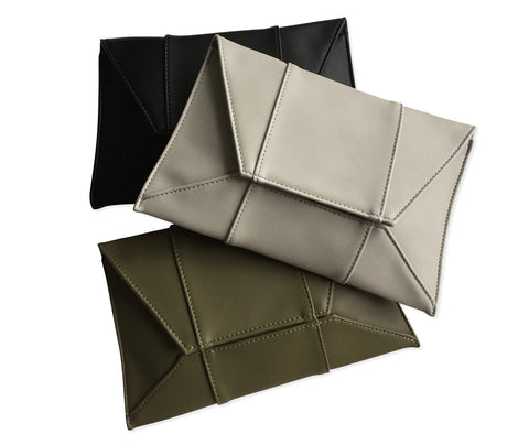 Geometric 3D Clutch Bag, Well Done Goods
