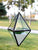 Diamond Shape Hanging Geometric Glass Terrarium, Well Done Goods