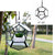 "6"" Hanging Soccerball shape Geometric Glass Terrariums, Well Done Goods"