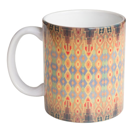 Guardian Building Ceiling Mug, Detroit Architecture Coffee Cup, Well Done Goods