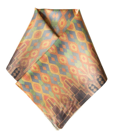 Guardian Building Ceiling Pattern Scarf, Well Done Goods by Cyberoptix