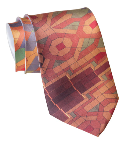 Guardian Building Ceiling Pattern Necktie