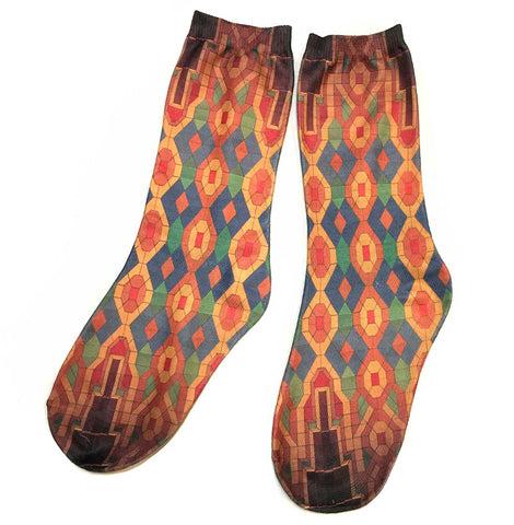 Guardian Building Ceiling Print Socks, Well Done Goods