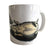 Hedgehog Print Mug, Vintage Engraving Natural History Coffee Cup, Well Done Goods