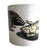 Hedgehog Print Coffee Mug, Natural History Cup