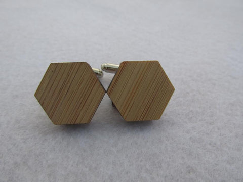 Hexagon Cufflinks, Well Done Goods