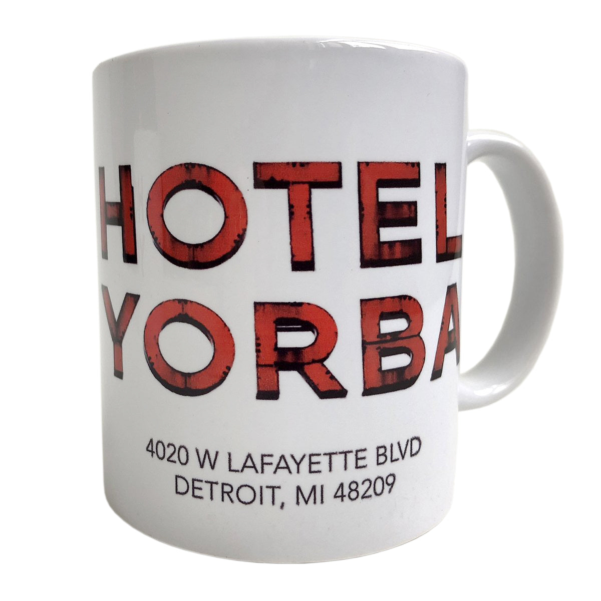 Hotel yorba mug detroit coffee cup well done goods hotel yorba coffee mug well done goods malvernweather Image collections