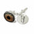 Glass Eye Cufflinks, Hazel Human Eyeball. Well Done Goods