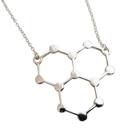 Ice Molecule Pendant Necklace