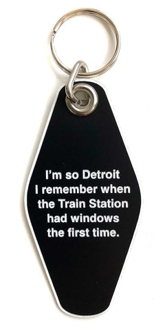i'm so detroit... keychain at well done goods
