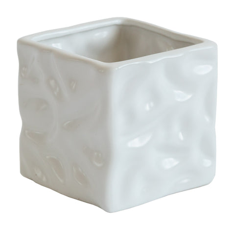 Liquified Cube Planter, Well Done Goods