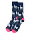 Llama Socks. Cute Alpaca Men's Fancy Socks, by Parquet