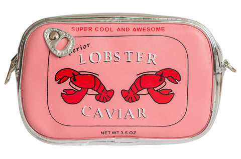 Lobster Caviar Pink 3D Clutch Bag, Well Done Goods