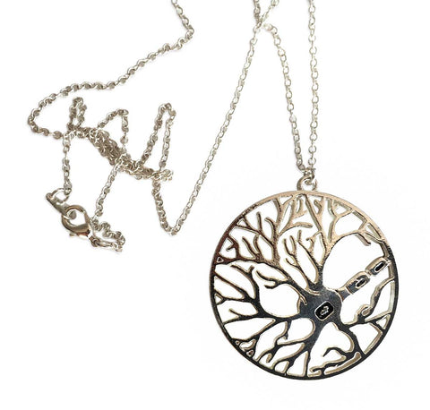 Nerve Cell Axon & Dendrite Circle Necklace, Well Done Goods