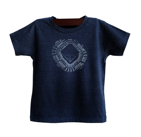 Old Tiger Stadium, Navin Field Blueprint Toddler T-Shirt