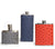 Ostrich Leather & Stainless Steel Flasks by Brouk & Co. Well Done Goods
