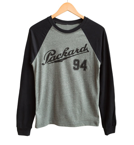 Packard Raves 94, Team Rave Long Sleeve Baseball Shirt, Well Done Goods