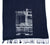 Cass Tech Detroit Blueprint Scarf