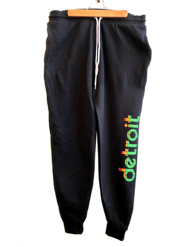 Peak Detroit Track Pants, unisex lounge sweatpants