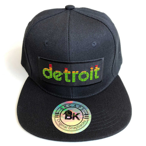 Peak Detroit Hat, LED Audio Level Meter Snapback Cap