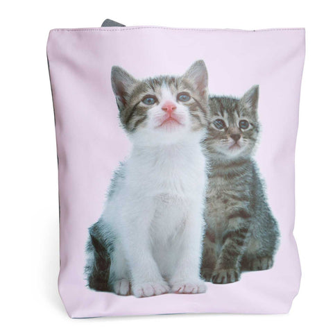 Kitty Cats Pink Tote Bag, Well Done Goods