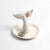 Porcelain Whale Tail Ring Dish