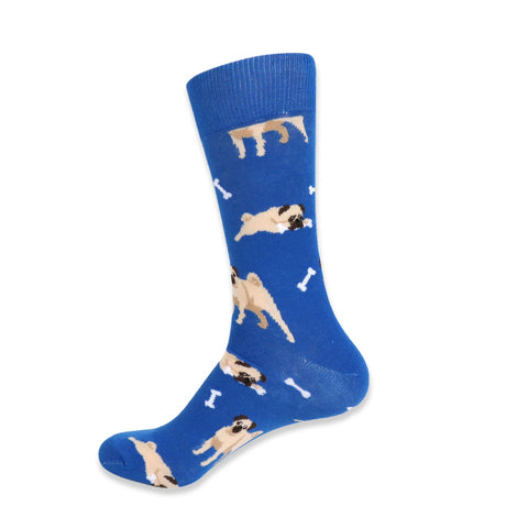 socks with pugs by parquet available in detroit by well done goods